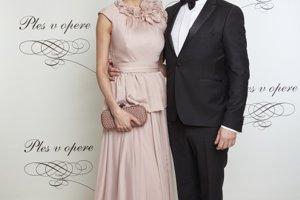 Dano Dangl s manželkou
