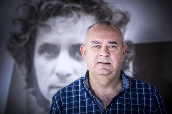 Riaditeľ vydavateľstva Petit Press a zakladateľ denníka SME Alexej Fulmek.