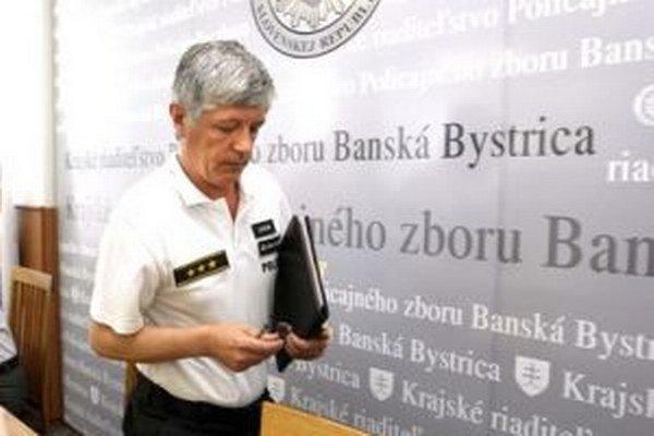 Krajský policajný riaditeľ Marián Slobodník
