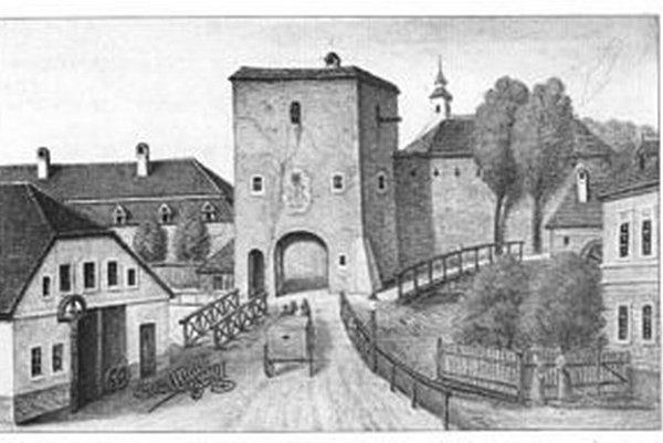 Bašta podľa maľby  A.Stollmanna