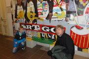 Pri diele Art Go! Pavol Bebjak a Jožko Chlapečka.