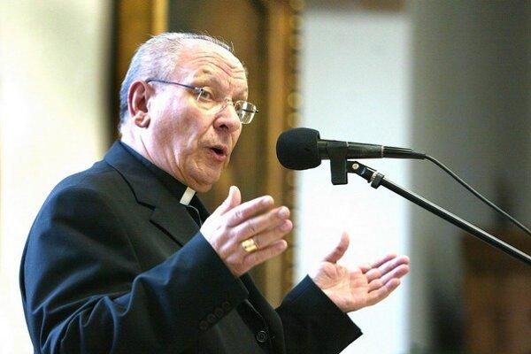 Biskup Rudolf Baláž.