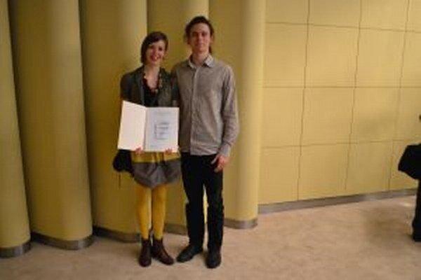 Ocenení Lenka Rajchmanová a Tibor Trulík