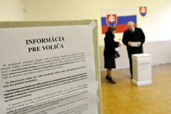 Volebná účasť bola zrejme nižšia ako v prvom kole.