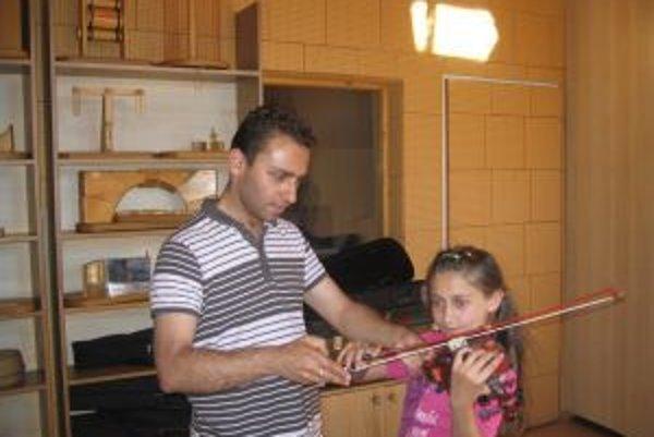 Prácu hudobného pedagóga Dušan Radič miluje.
