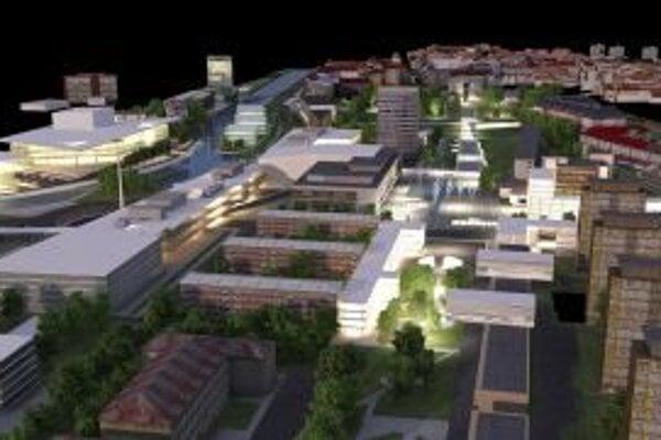 Aj takto môže v budúcnosti vyzerať priestor s Domom kultúry