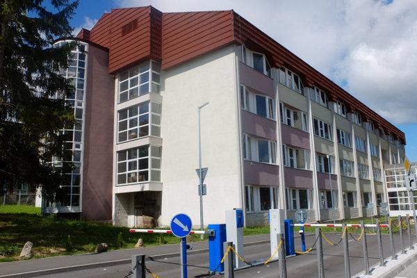 Pavilón B žiarskej nemocnice.