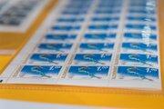 Limitovanú edíciu poštovej známky pri príležitosti 23. zimných olympijských hier vjuhokórejskom Pjongčangu.