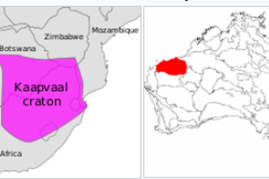 Superkontinent Vaalbara z obdobia prahôr bol zložený z rozsiahlych štruktúr nazývaných Kaapvaal a Pilbara. Odhaduje sa, že existoval približne pred 3,6 miliardami rokov.