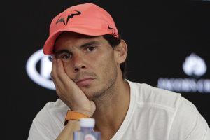 Rafael Nadal po operácii pravého členka ukončil sezónu.