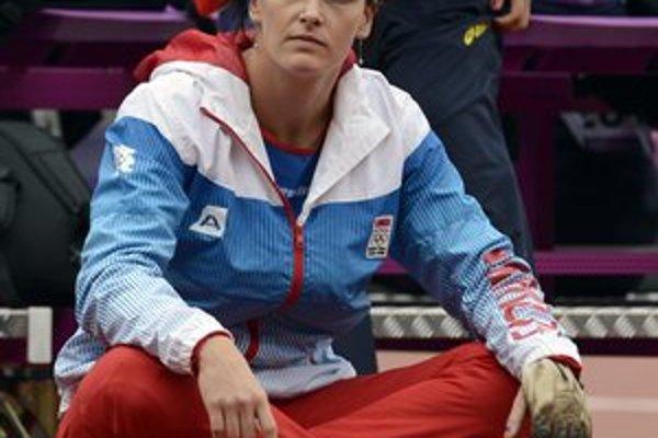 Martina Hrašnová v Londýne dôvod na úsmev nemala.
