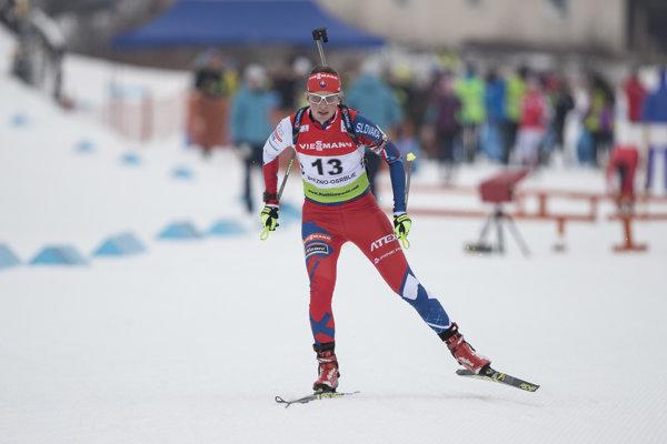 Alžbeta Majdišová štartuje na prvých olympijských hrách.