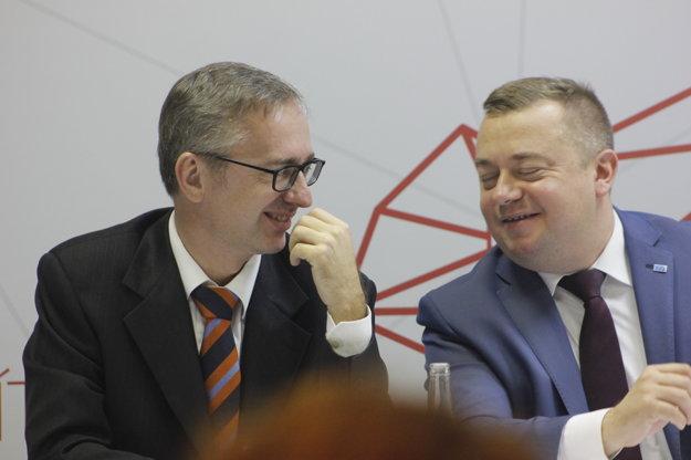 Na zábere Michal Bartók a Martin Hošták.