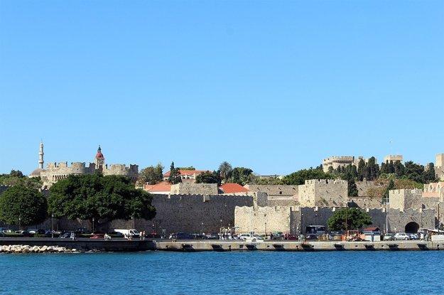 Staré mesto Rhodos.