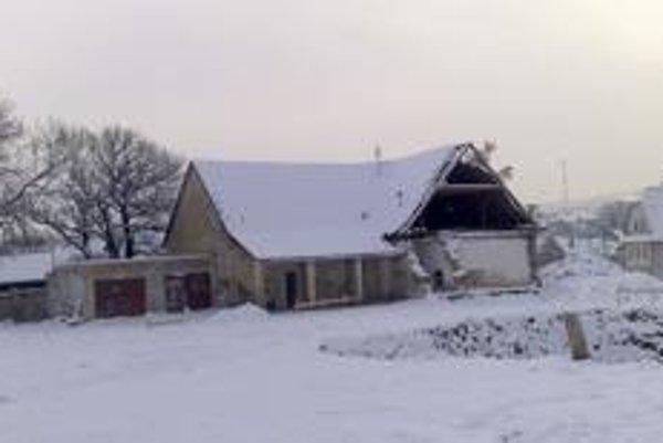 Na tomto mieste vo Zvolenskej Slatine vyrastie na budúci rok Galéria Jána Kulicha.