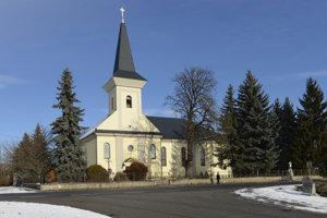 Na snímke rímskokatolícky kostol