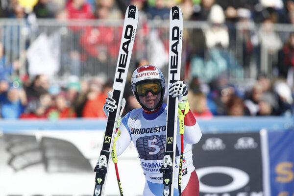 Švajčiarsky lyžiar Beat Feuz.