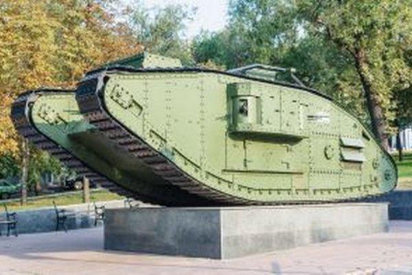 Tanky mali premiéru práve na bojiskách prvej svetovej vojny.