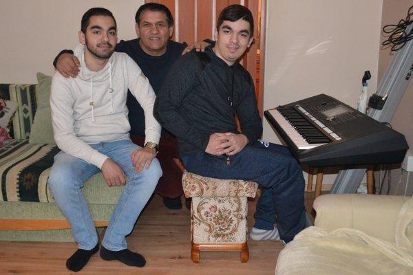 Zľava: Andrej Kováč, Vlado Sendrei, Patrik Kováč.