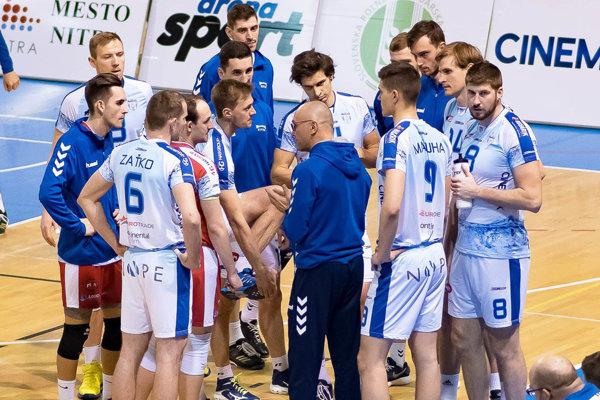 Európske súťaže sú už minulosťou. Nitrania sa najskôr budú koncentrovať na finálový turnaj Slovenského pohára a potom na vyvrcholenie extraligy.