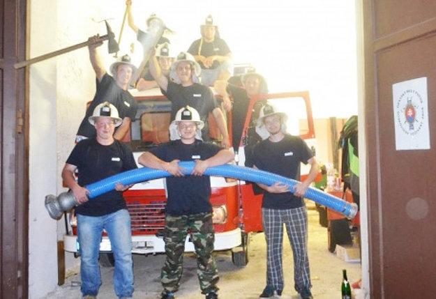 Súčasný zbor hasičov.