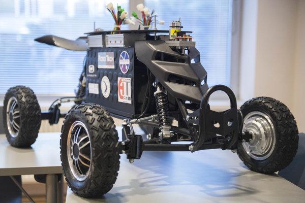 Na simulovanú misiu pôjde aj slovenský rover.