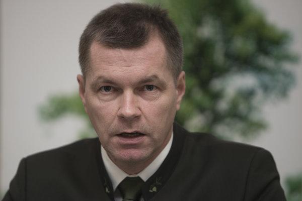 Riaditeľ Lesov SR Marian Staník.