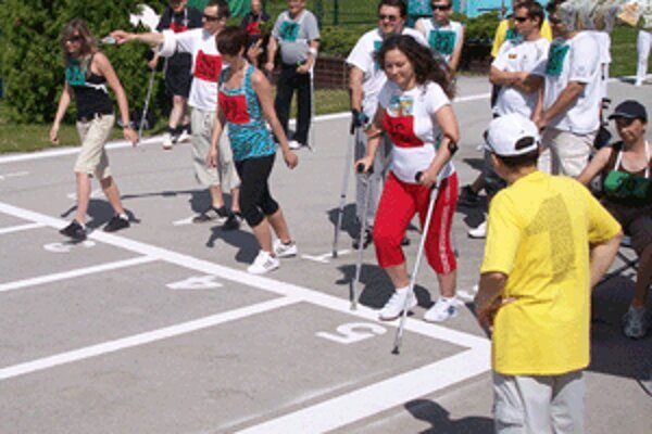 Športové hry prilákali dvesto súťažiacich.
