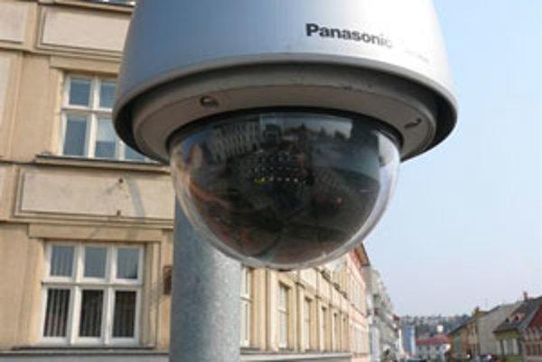 Kamerový systém je vo Zvolene osadený len v centre mesta.