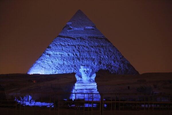 Veľká Sfinga v egyptskej Gíze.