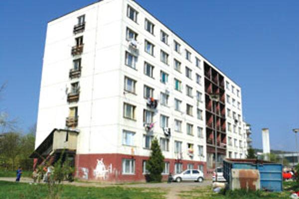 V bytovke Pod Strážami nechali bývalí nájomníci najväčšie dlhy.