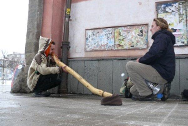 Dvojica Žilinčanov si zahrala  v centre Zvolena.