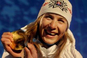 Anastasia Kuzminová je najúspešnejšou slovenskou športovkyňou na zimných olympiádach.