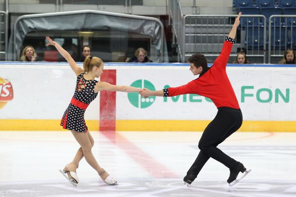 Nový športový pár na scéne: Simon Fukas - Tereza Zendulková.