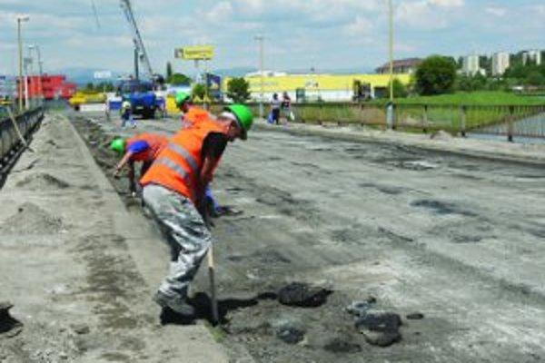 Rekonštrukčné práce postupujú rýchlejšie, ako stavbári predpokladali.
