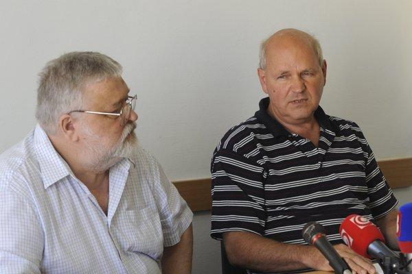 Novým členom licenčnej rady je Milan Blaha (vľavo).