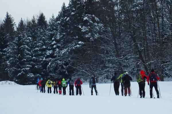 Pochod vďaky na lyžiach z Dukly bude mať za sebou už 25 ročníkov.
