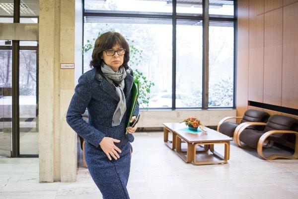 Podpredsedníčka vlády a ministerka spravodlivosti SR Lucia Žitňanská.