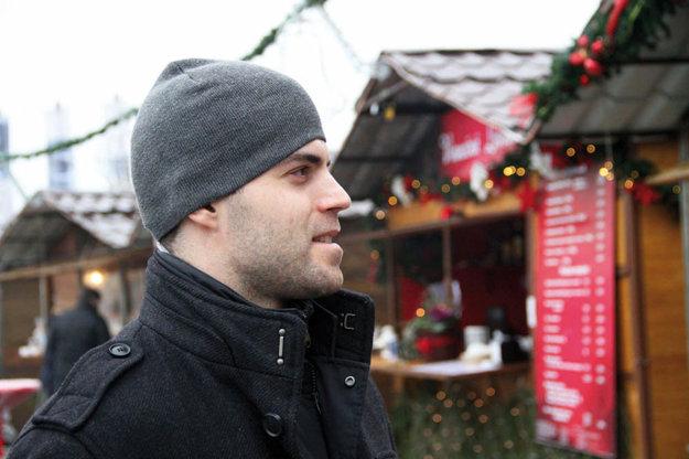 Aj David Laliberté už cíti sviatočnú atmosféru. Na Vianoce pricestujú do Nitry jeho rodičia, ako aj rodičia manželky.