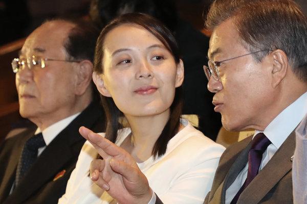 Kimova sestra Kim Jo-čong.