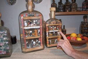 Fľaše trpezlivosti opisujú banskú históriu miest.