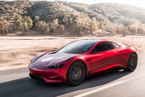 Nová generácia Tesly Roadster. Vyrábať by sa mala začať takisto v roku 2019.