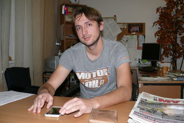 Programátor Ľubomír Havran.