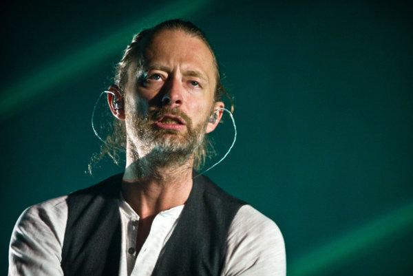 Thom Yorke na festivale Pohoda.
