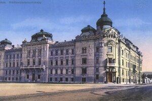 Budova vojenského veliteľstva v Košiciach.