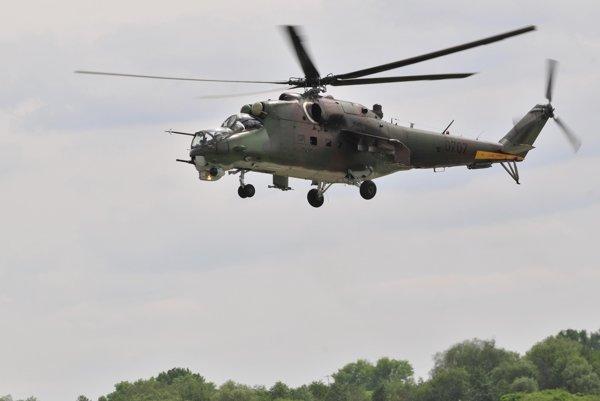 Vrtuľník Mi -24 V.