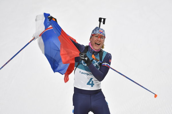 Anastasia Kuzminová je najúspešnejšou slovenskou olympioničkou v ére samostatnosti.