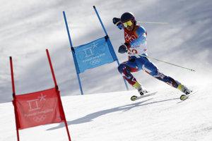 Andreas Žampa so štartovým číslom 29 obsadil v prvom kole obrovského slalomu osemnástu priečku.