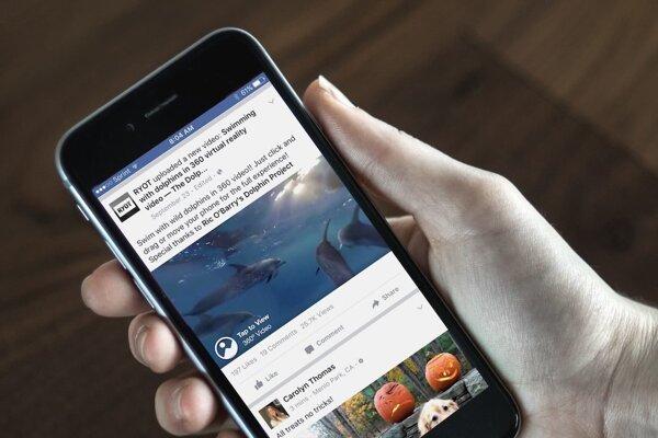360-stupňové videá na Facebooku pozerajú milióny ľudí.