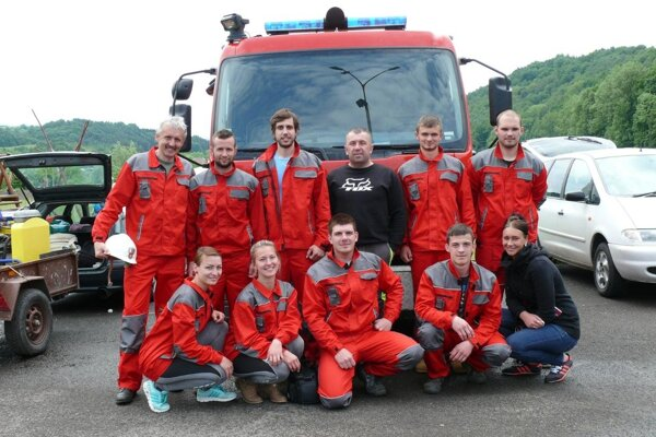 Na súťaži sa po dlhšej dobe zúčastnili aj dobrovoľní hasiči z Chrenovca-Brusna.